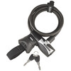 Kryptonite KryptoFlex 815 Key Cable schwarz